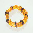 Amber Jewelry: Bracelet with dark amber discs - www.avalonstreasury.com [112 x 112 px]