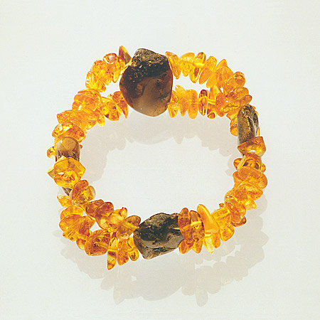AvalonsTreasury.com: Bracelet with four rustic amber gems (Page: Bracelet with four rustic amber gems) [450 x 450 px]