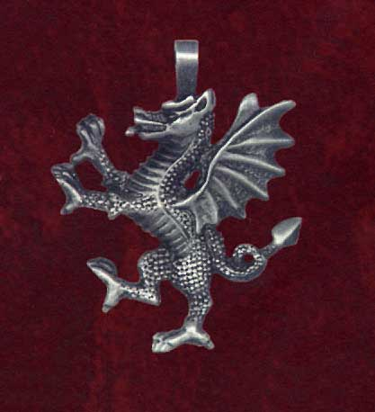 AvalonsTreasury.com: Welsh Dragon (Page: Welsh Dragon) [417 x 458 px]