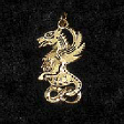 Celtic Birth Charms: 06 - Beltane (In Gold) - www.avalonstreasury.com