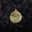 Celtic Birth Charms: 15 - Hop Tu Naa (In Gold) - www.avalonstreasury.com