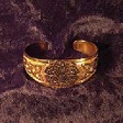 Bracelet with Magnificent Knot Pattern (In Gold) - www.avalonstreasury.com