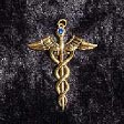 Caduceus (In Gold) - www.avalonstreasury.com