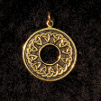Wheel of Arianrhod (In Gold) - www.avalonstreasury.com
