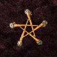 Pentagram of Swords (In Gold) - www.avalonstreasury.com