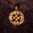 Celtic Heart-Cross (In Gold) - www.avalonstreasury.com