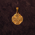 Celtic Cross (In Gold) - www.avalonstreasury.com