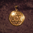 Hexagram (In Gold) - www.avalonstreasury.com