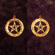 Pentagram of Planets (In Gold) - www.avalonstreasury.com